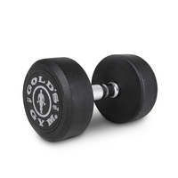 Gold's Gym Rubber Dumbbell - 15kg